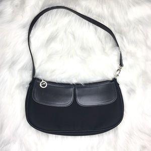 Longchamp Vintage small shoulder purse like new !
